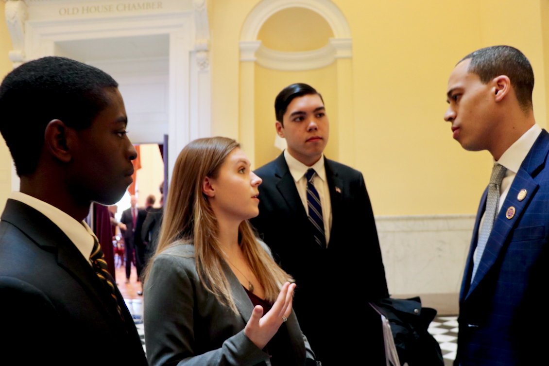 Young Virginia Beach voices deliver historic preservation message to governor, lawmakers in Richmond | Princess Anne Indy