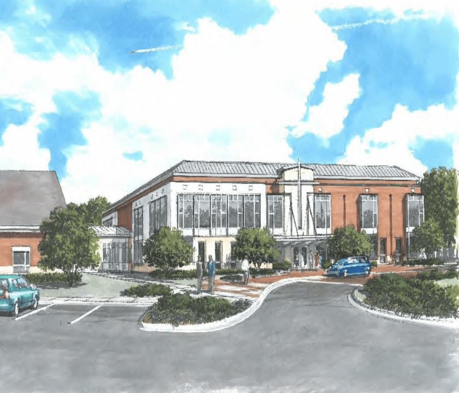 Virginia Beach Planning Commission supports plans for growing St. John the Apostle
