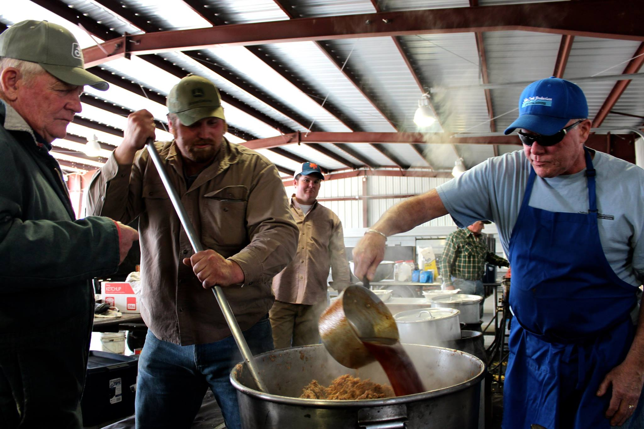 Annual Creeds Ruritan BBQ is planned for March, but this year it's a drive-through