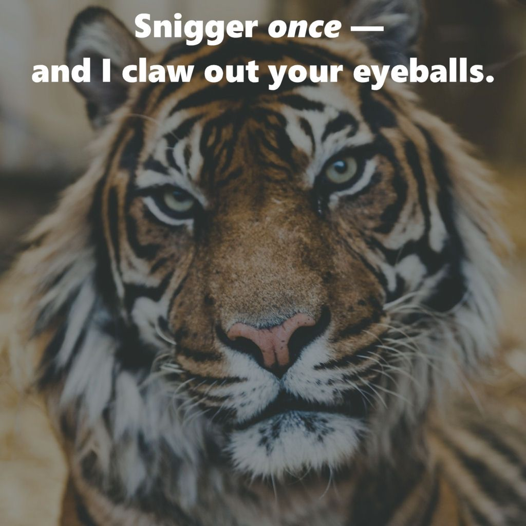 hairtrigger tigger LOLcat pisses astrology millennials