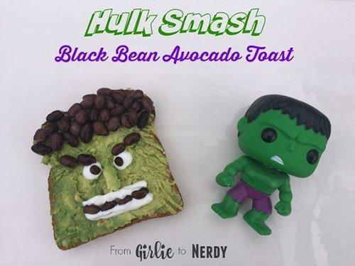 Hulk Smash Toast
