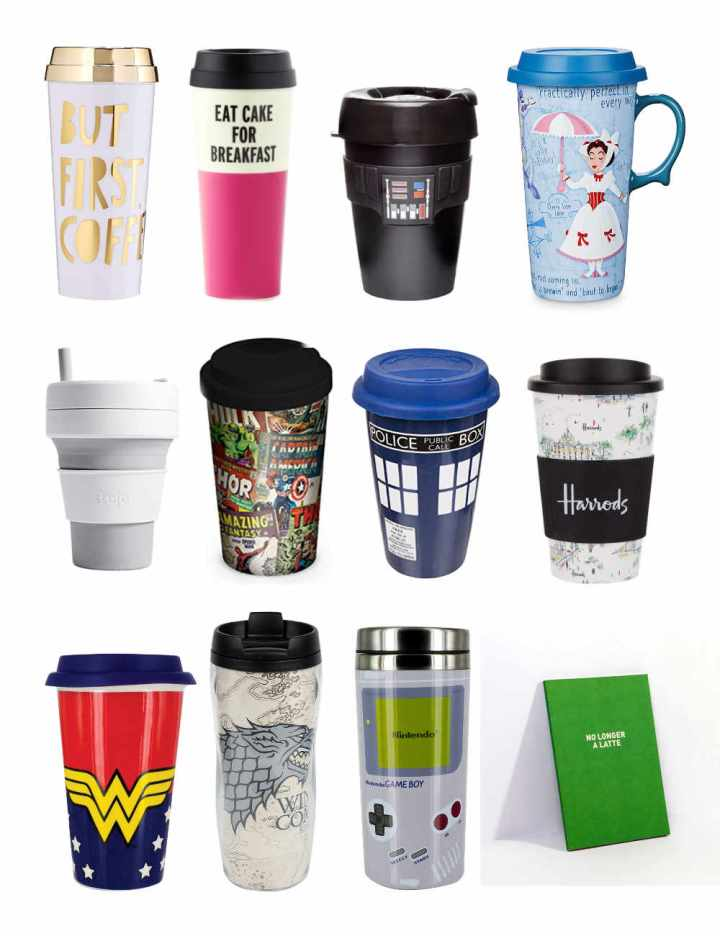 A Selection of Travel Mugs