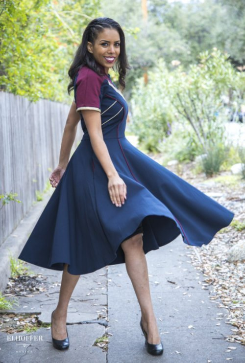 Corps-Inspired Dress
