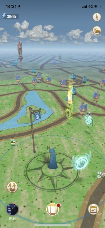 Flags in Wizards Unite
