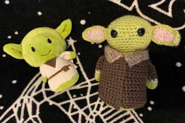 Itty Bitty Yoda & Baby Yoda