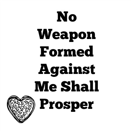 No Weapon Formed Against Me Shall Prosper Pictures