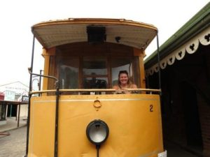 Tram driving | South African Road Trip