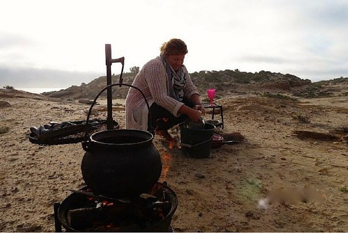 cooking outside | collaboration