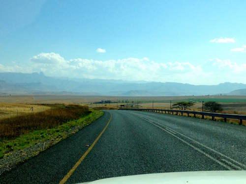 winding road   Van Life