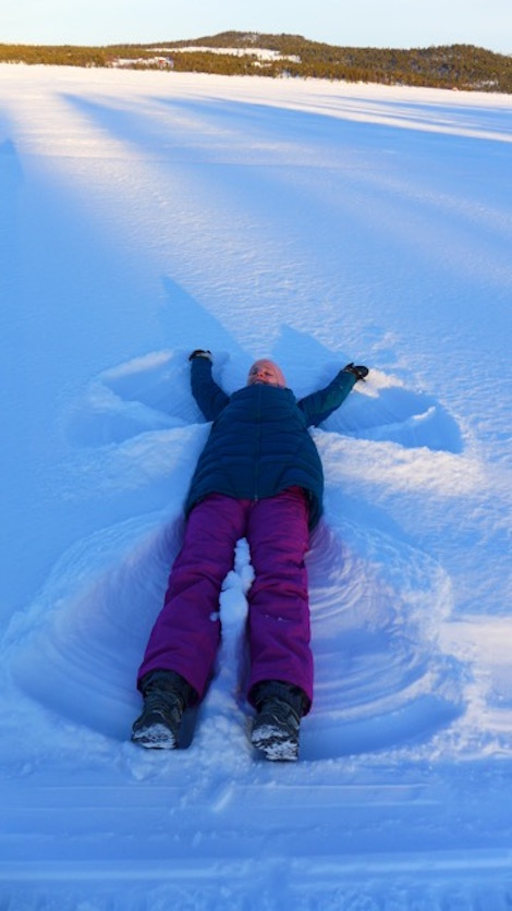 Making the most of the Arctic winter!