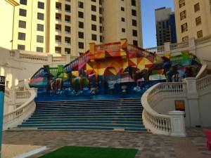 Dubai streetart
