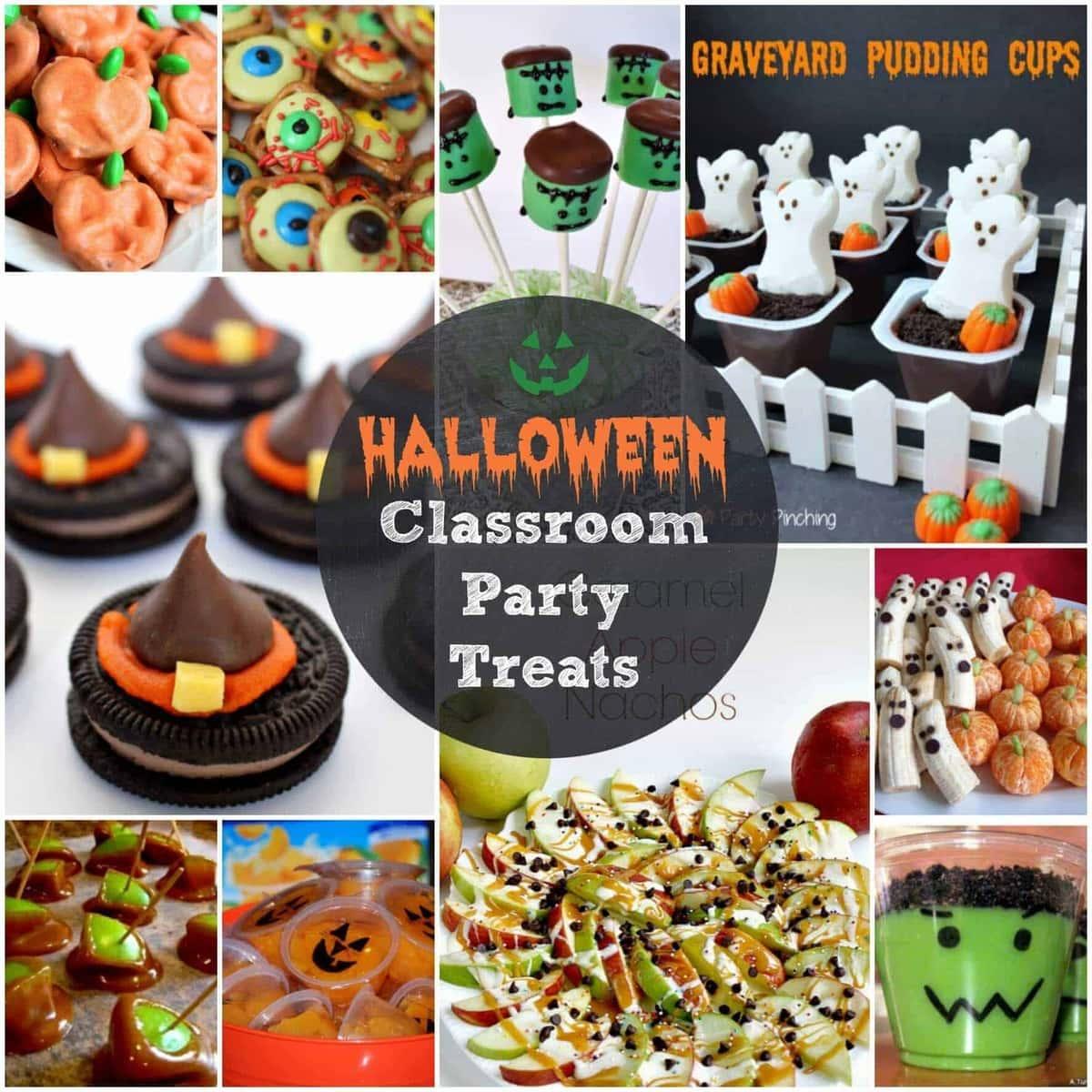 Easy Halloween Treats For Your Classroom Parties