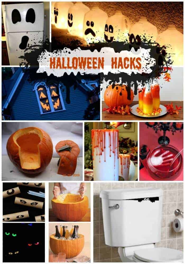 Halloween Hacks And Easy Diy Halloween Decorations Princess Pinky Girl