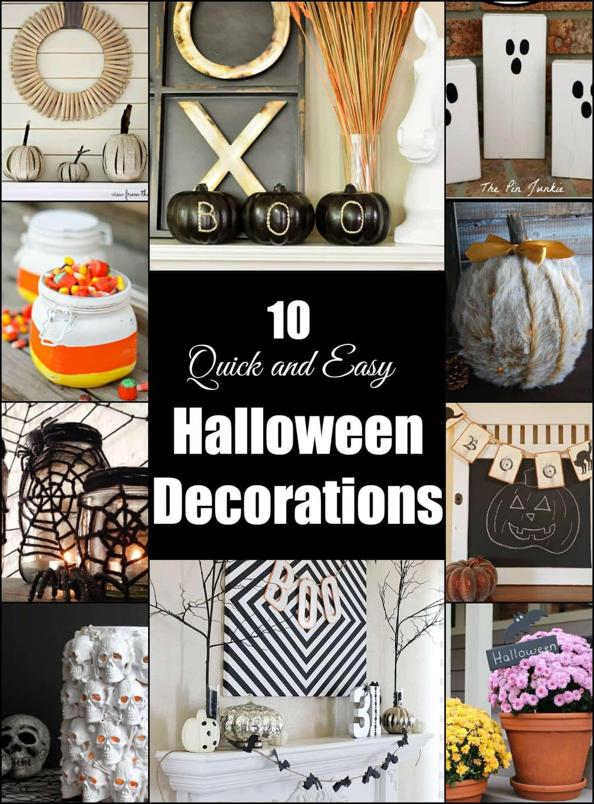 10 Quick and Easy Halloween Decorations  Page 2 of 2  Princess Pinky Girl