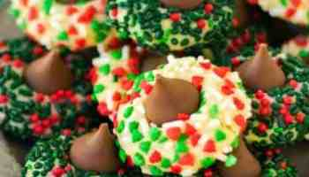 Rainbow Sprinkle Cookies Soft Delcious And Covered In Sprinkles