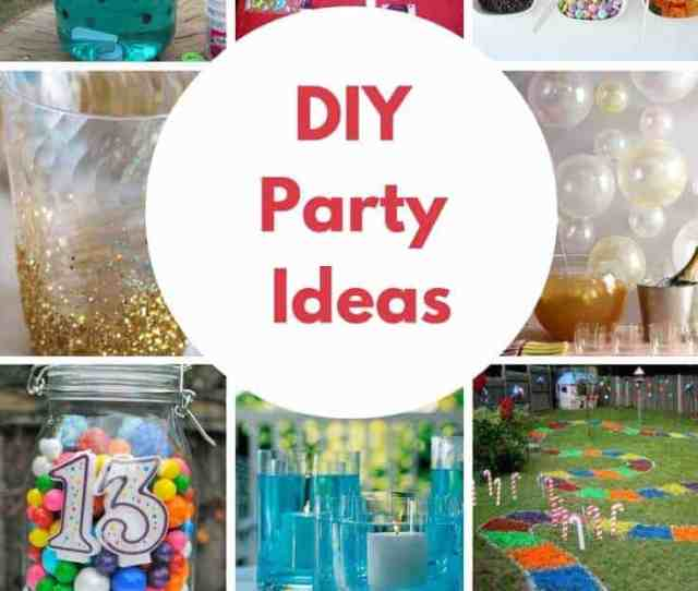 Creating Your Own Birthday Parties At Home Has Never Been Easier These Diy Birthday Party