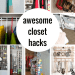 So smart! These closet hacks and organization ideas are going to really transform your life!