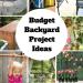 Budget Backyard Project Ideas