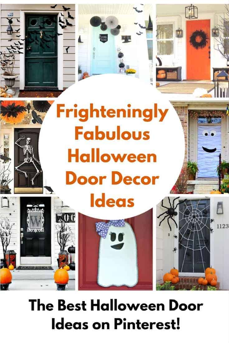 Halloween Door Decorating Ideas Frighteningly Fabulous Princess Pinky Girl