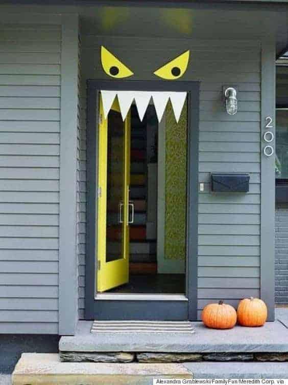 Halloween Door Decorating Ideas