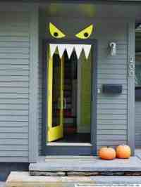 Halloween Door Decorating Ideas