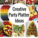 The Coolest Party Platter Ideas Veggie Trays Fruit Trays Gone Wild