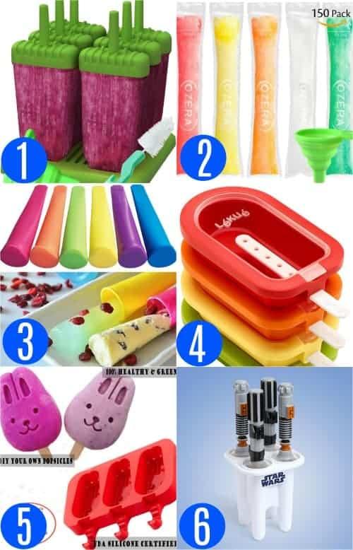 Homemade Popsicle Molds