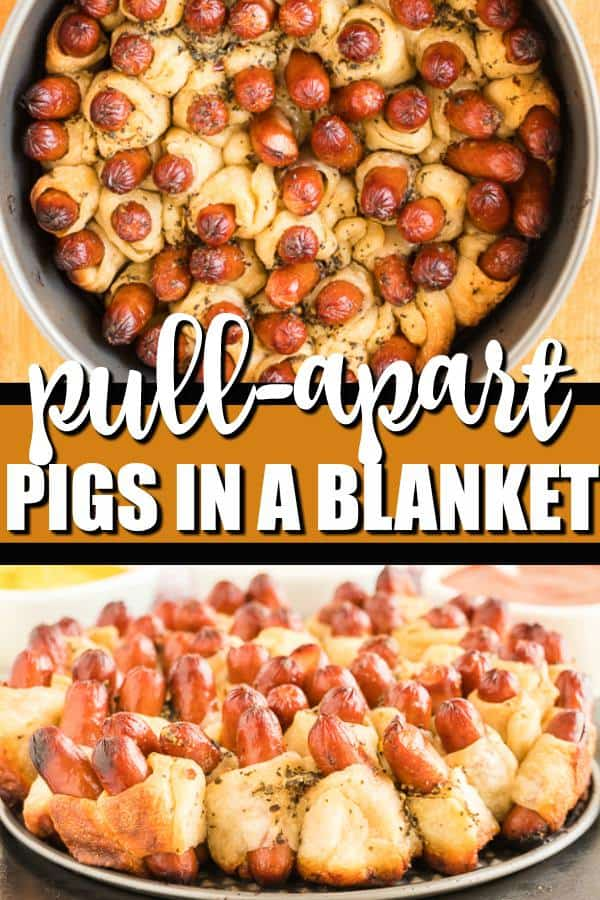 Pull apart pigs in a blanket pin