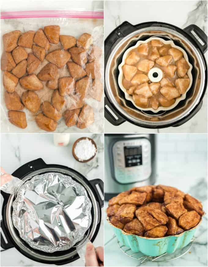 How to make instant pot monkey bread