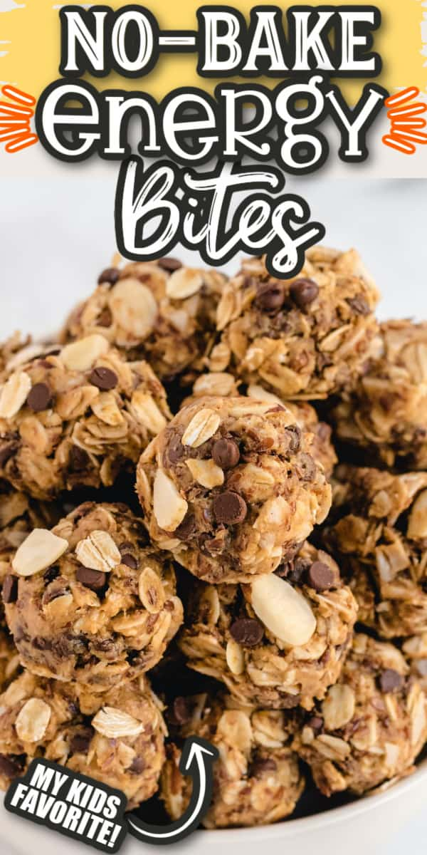 Energy bites Pinterest