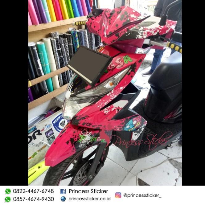 Jual Decal Motor Custom Di Surabaya
