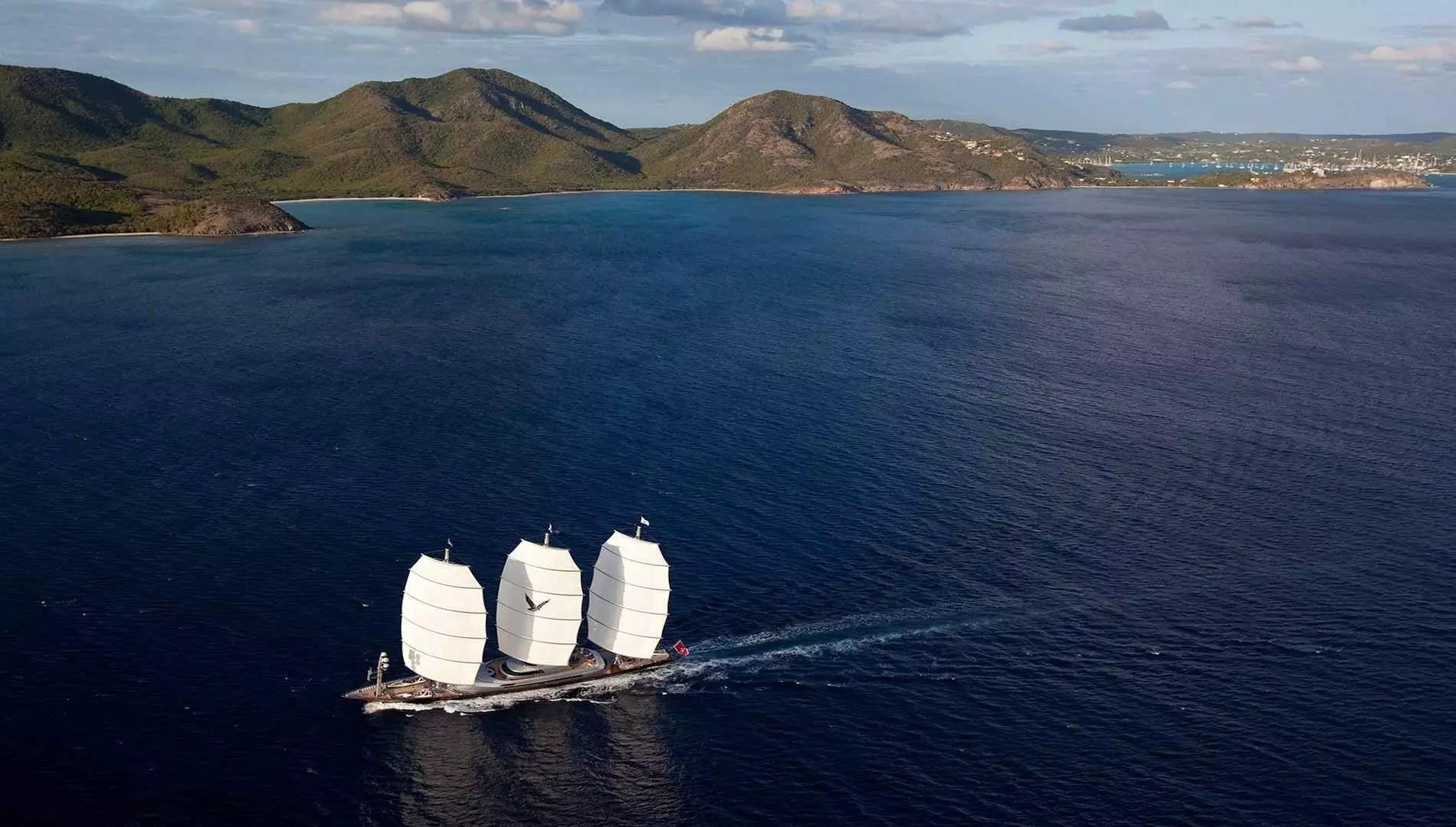 MALTESE FALCON Yacht Charter Perini Navi