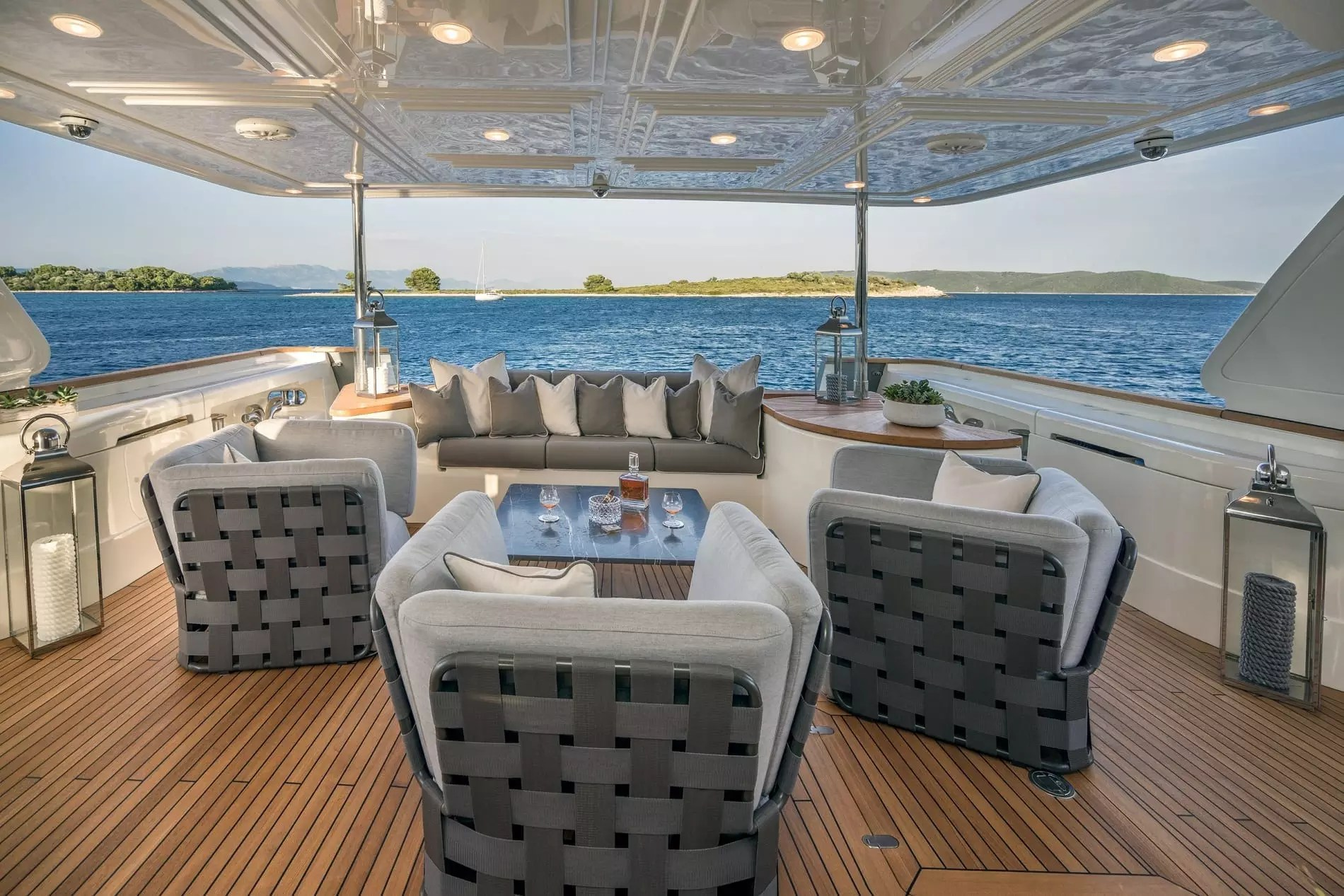 Seventh Sense 32M Yacht Charter Princess Yacht Charter