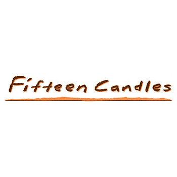 Fifteen Candles (not the final logo)