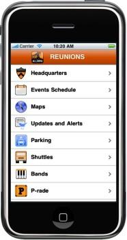 Reunions Mobile screenshot