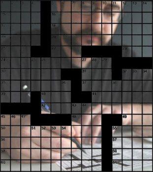 Dan Feyer, crossword master