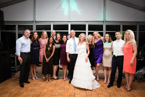 Collier-Peppard wedding party