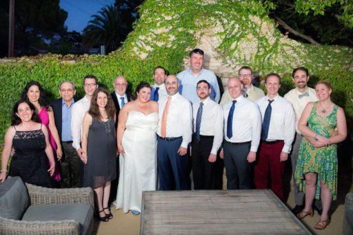 Margaroli-Feyer wedding party