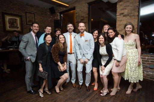 Johnson-Eveland wedding party