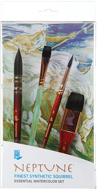 Princeton Neptune Watercolor Brushes : princeton, neptune, watercolor, brushes, Neptune™, Series, Brush, Princeton, Company