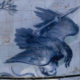 Coronelli detail of celestial globe