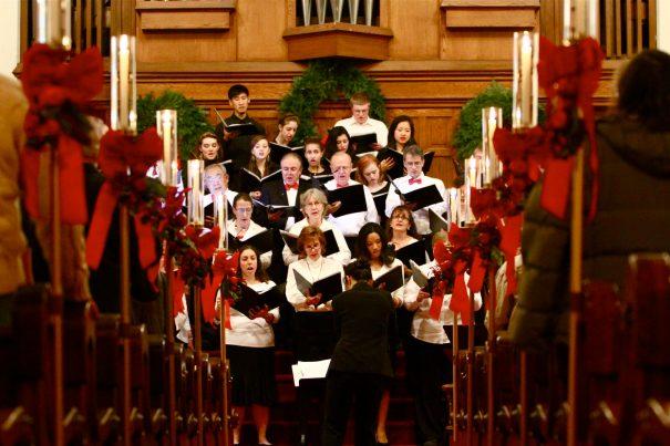PUMC Chancel and High School Choirs