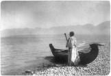 Žena iz plemena Kutenai, 1910.