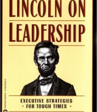Lincoln on Leadership:  Professional Reading Saturday