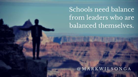 Leadership:  Working On Balance