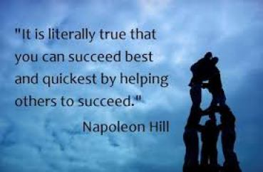 teamwork helping others
