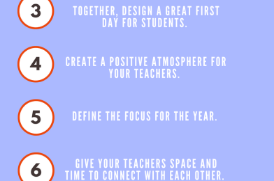 Ten Things To Remember As Teachers Return To School
