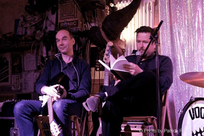 «Heute Ruhetag» – Buchpremiere mit Matto Kämpf & Die Zorros @ Helsinki Zürich © 27.04.2016 Patrick Principe