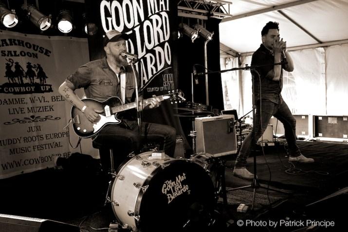 The Goon Matt & Lord Benardo @ Muddy Roots 2015, Belgien © 19.06.2015 Patrick Principe