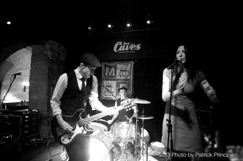 The Monofones @ Les Caves © 04.04.2015 Patrick Principe